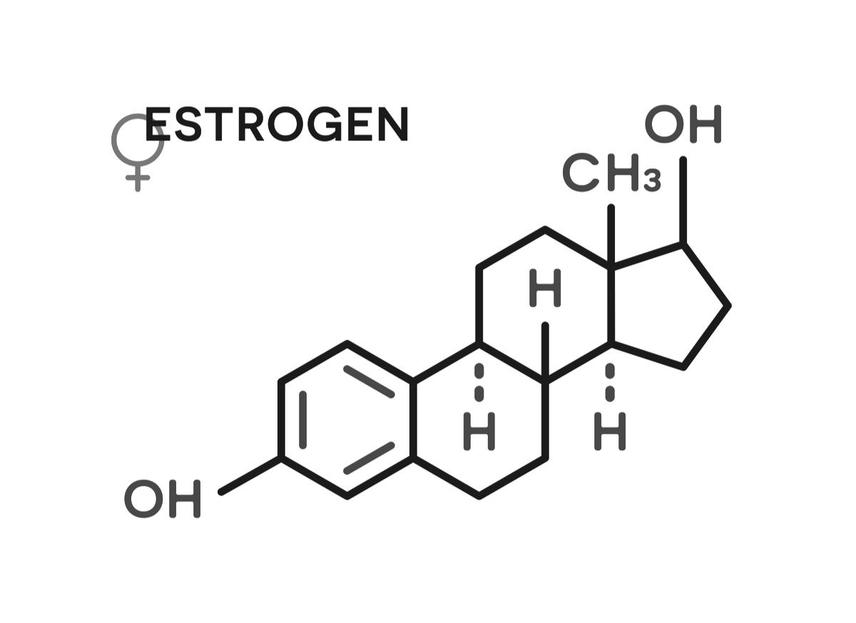 östrogen och blodprov
